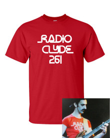 Radio Clyde 261 T shirt Frank Zappa