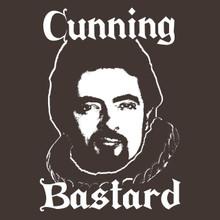 Blackadder t shirt TV cult comedy The Black Adder Cunning Bastard!