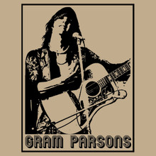 Gram Parsons T Shirt Country Rock legend Sweetheart of the Rodeo Grievous Angel
