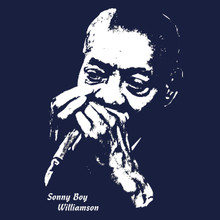 Sonny Boy Williamson T Shirt Blues harp music legend