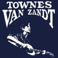 Townes Van Zandt T Shirt Country music legend