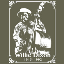 Willie Dixon tribute T Shirt Blues music legend Chicago blues