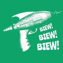 Ray Gun T Shirt Biew! Biew!
