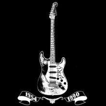 Stevie Ray Vaughan T Shirt guitar Fender Stratocaster tribute