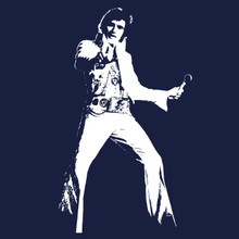 Elvis Presley T Shirt The King of Rock and Roll