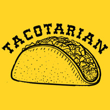 Tacotarian T-shirt Funny Mexican food taco addicted