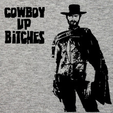 Clint Eastwood_cowboy up T Shirt_ BlackSheepShirts