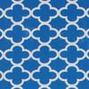Gift Wrap - Cloverleaf - Blue