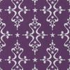 Gift Wrap - Etoile - Silver on Purple
