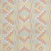 Gift Wrap - Tribal - Pink on Mint Green