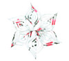Snowflake Topper - Garland Ice Blue
