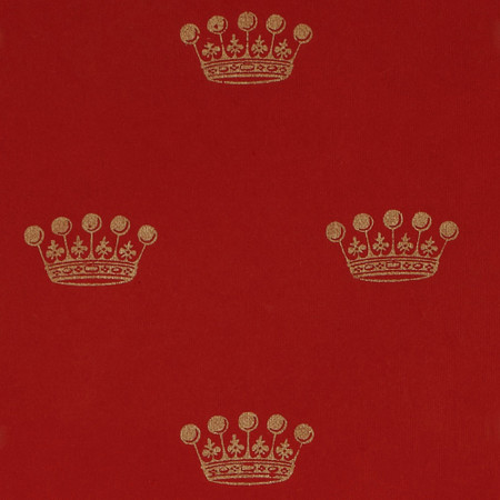 Gift Wrap - Crown - Red