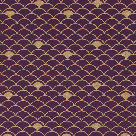 Gift Wrap - Nami - Gold on Purple