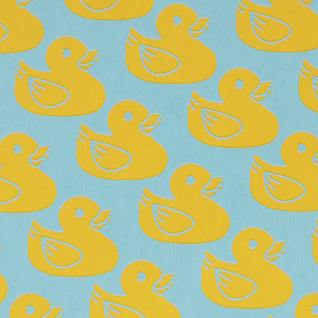 Gift Wrap - Ducklings - Blue