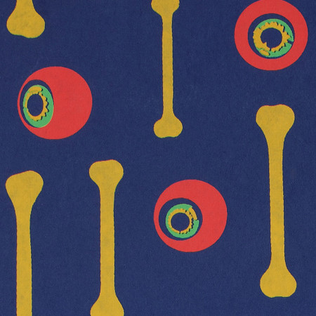 Gift Wrap - Eyebone - Dark Blue