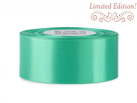 SALE! Double Faced Satin Ribbon - Niagara