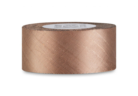 SALE! Dupioni Silk Ribbon - Hazelnut