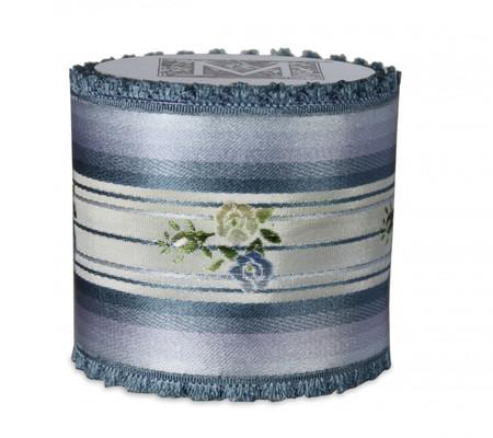 Vintage Floral Ribbon - Blue