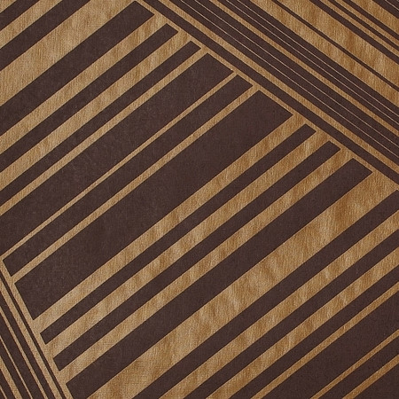 Gift Wrap - Lines - Metallic Copper