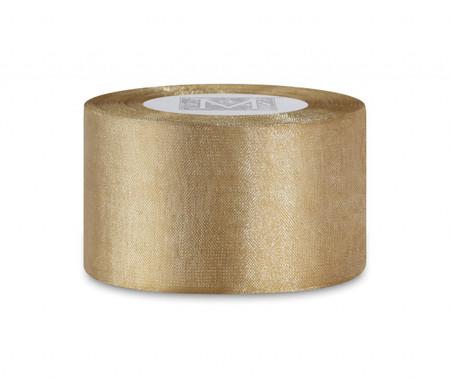 Woven Metallic Ribbon - Gold