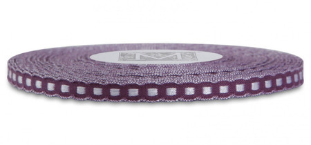 Scalloped Trim Ribbon - Blackberry