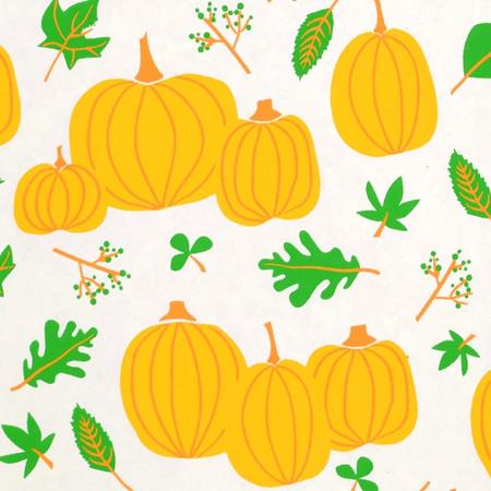 Pumpkins – Cream/Orange/Green