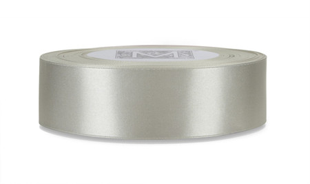 Double Faced Satin Ribbon - Oyster