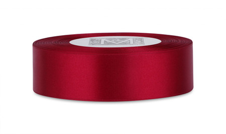 Double Faced Satin Ribbon - Garnet