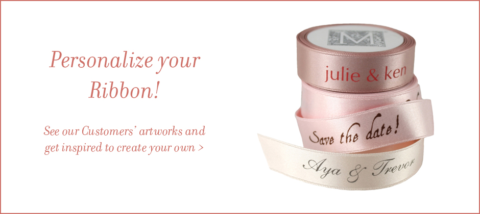 Personalize your ribbon!