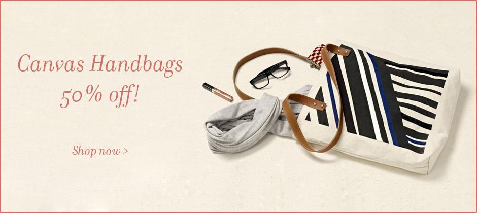 Canvas Handbags Sale