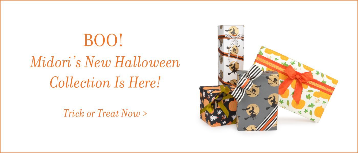 Haloween Gift Wrap Collection