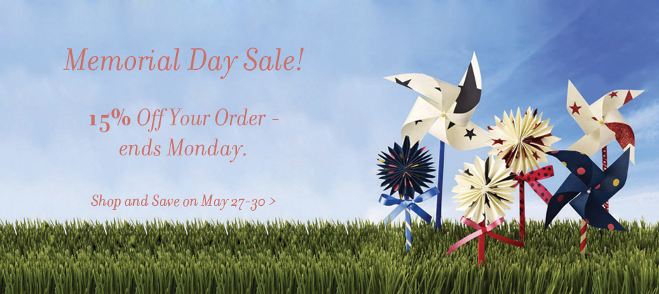 Memorial Day special Ribbon and Gift Wrap