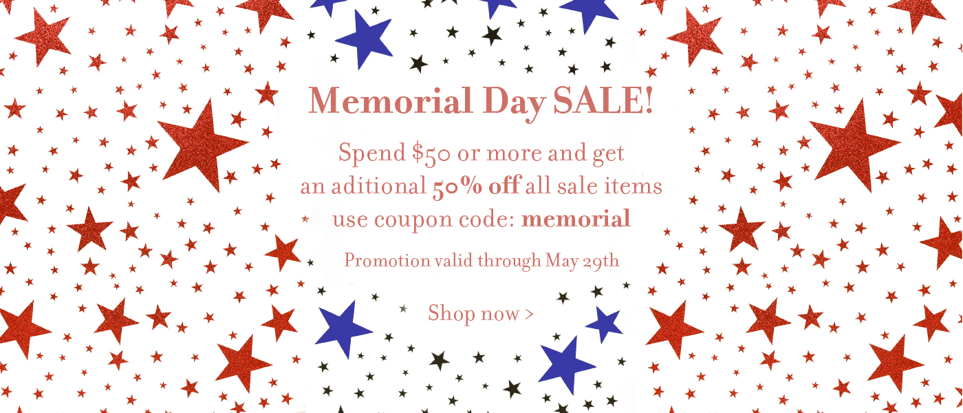 Memorial Day Ribbon and Gift Wrap sale