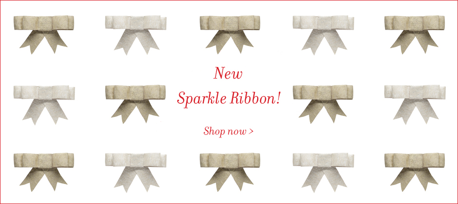 Holiday Sparkle Ribbon