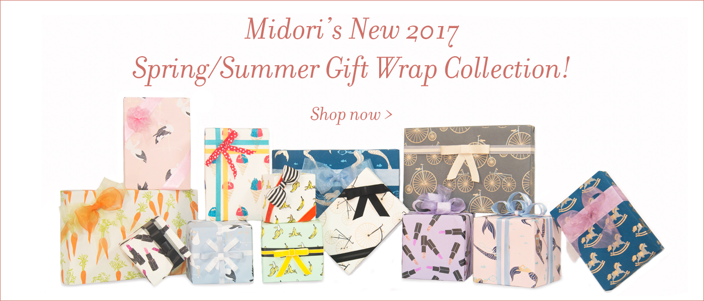 Spring Summer Gift Wrap Collection