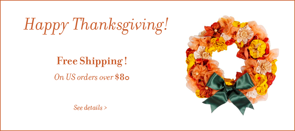 Free Shipping on Ribbon and Gift Wrap