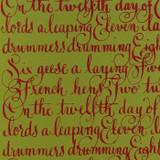 Gift Wrap - Twelve Days - Bamboo