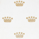 Gift Wrap - Crown - White