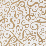 Gift Wrap - Flourish - Gold