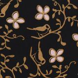 Gift Wrap - Cloisonne - Black