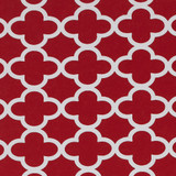 Gift Wrap - Cloverleaf - Red