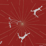Gift Wrap - Reindeer - Red