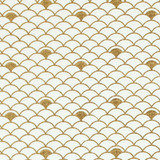 Gift Wrap - Nami - Gold on White