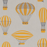 Gift Wrap - Ancient Airships - Gray