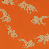 Gift Wrap - Goldfish - Orange