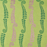 Gift Wrap - Fern - Green/Gold