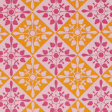 Gift Wrap - Mosaic - Pink/Orange