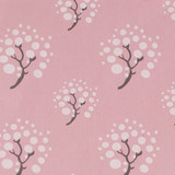 Gift Wrap - Moon Tree - Pink