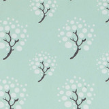 Gift Wrap - Moon Tree - Blue
