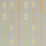 New! Gift Wrap - Arrows - Light Gray